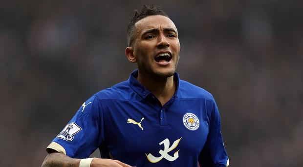 Danny Simpson will miss Leicester's final game of the season against QPR on Sunday