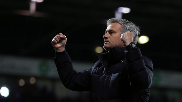 Chelsea manager Jose Mourinho is looking forward to the end of the season