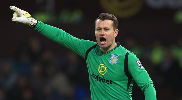Shay Given is a doubt for the FA Cup final after missing Sunday's 1-0 defeat to Burnley with a groin problem