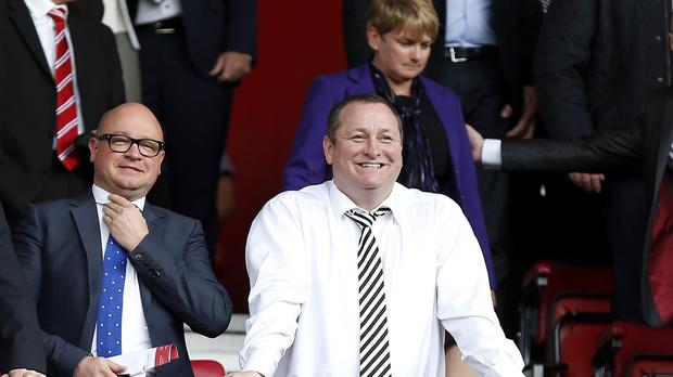 Newcastle managing director Lee Charnley, left, has a big decision to make