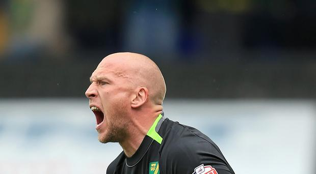 John Ruddy has his eyes set on a return to the England squad