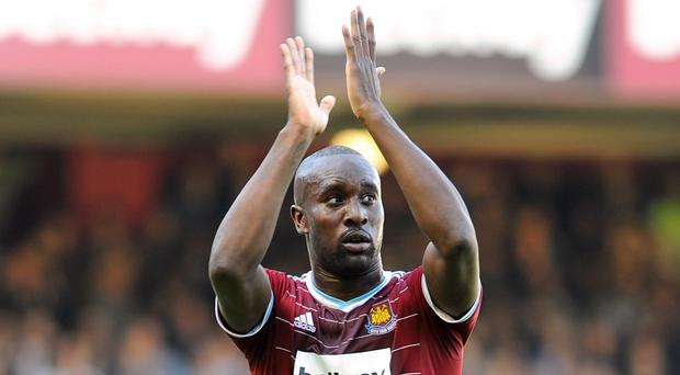 Carlton Cole's contract with West Ham has not been extended