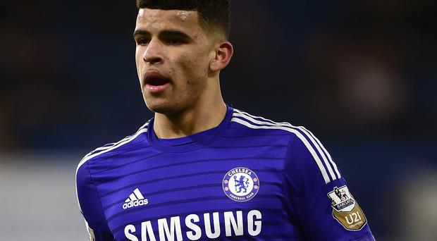 Dominic Solanke was on target for the Blues