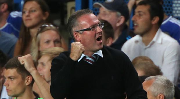 Ex-Aston Villa manager Paul Lambert, pictured, believes Christian Benteke is worth his reported £30million price tag