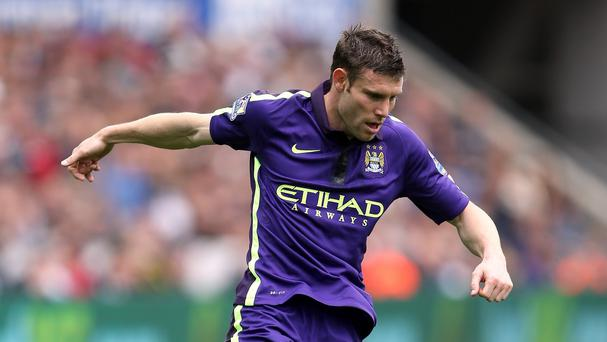 James Milner, pictured, could be a future Liverpool captain, according to Jamie Carragher