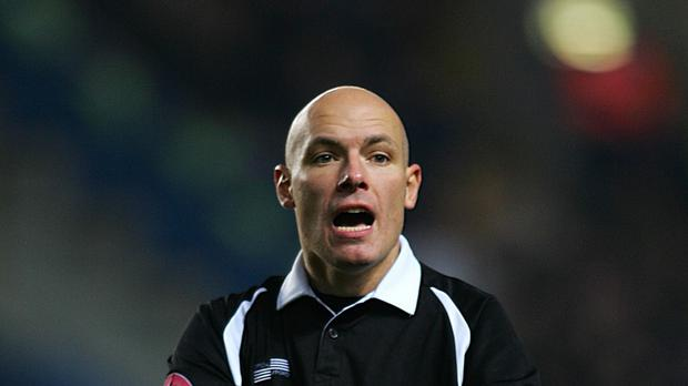 Howard Webb has called time on his career with PGMOL