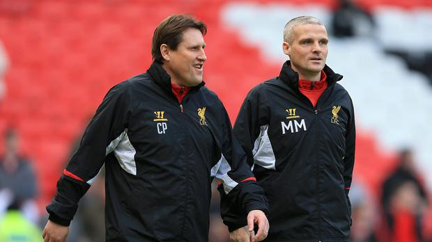 Assistant manager Colin Pascoe, pictured left, and first-team coach Mike Marsh, right, have lost their jobs in a backroom reshuffle at Liverpool
