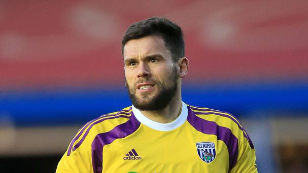 West Brom's Ben Foster has been out of action since March with a damaged cruciate knee ligament