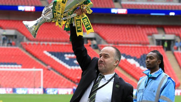 Norwich chief executive David McNally is not expecting a major overhaul of the squad after winning promotion to the Barclays Premier League