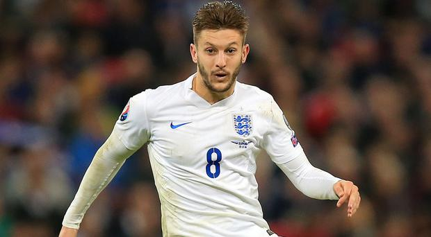 Adam Lallana, pictured, is pleased Liverpool are standing by manager Brendan Rodgers