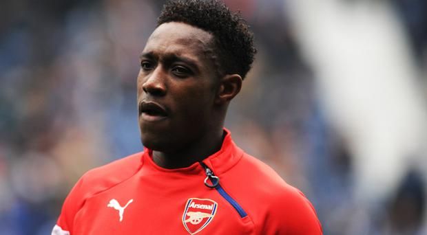 Arsenal forward Danny Welbeck has his sights set on the Barclays Premier League title race
