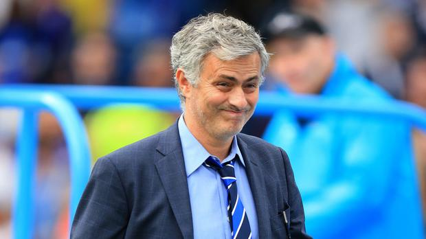 Chelsea manager Jose Mourinho starts out against Swansea