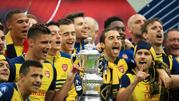 Arsenal won the 2015 FA Cup