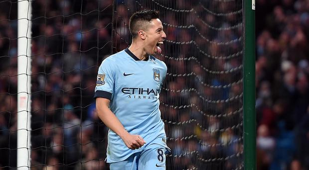 Manchester City's Samir Nasri is determined to come back strongly after a disappointing 2014-15 season