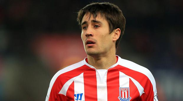 Bojan scored five goals for Stoke before his injury