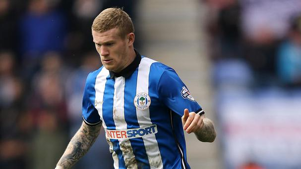 James McClean has swapped Wigan for West Bromwich