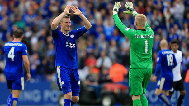 Defender Robert Huth (left) has completed a permanent move from Stoke to Leicester