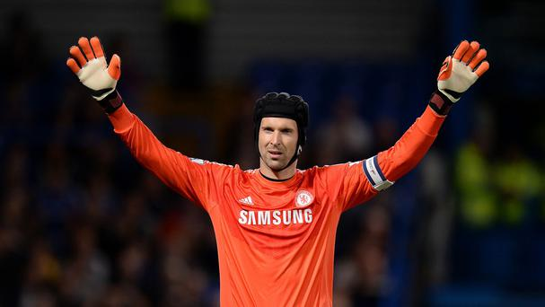Petr Cech has joined Arsenal