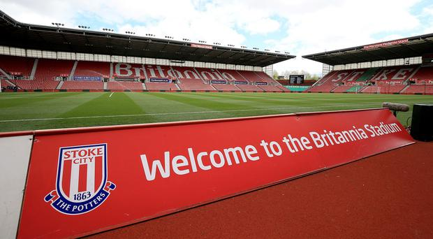 Stoke will have a charity shirt sponsor