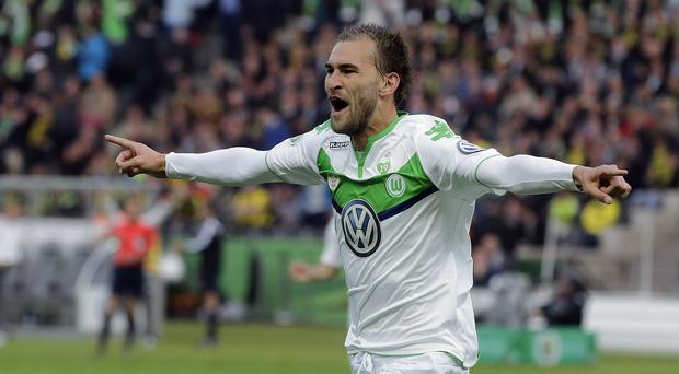 Bas Dost has impressed for Wolfsburg this year