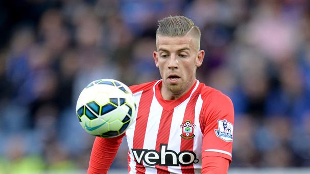 Southampton expect to beat Tottenham to a deal for Toby Alderweireld.