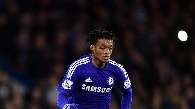 Colombian winger Juan Cuadrado joined Chelsea in February from Fiorentina and made just four Premier League starts for Chelsea the past season.