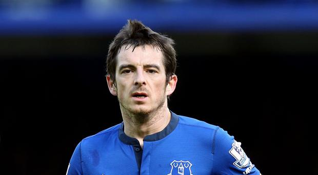 Everton defender Leighton Baines has been ruled out of the club's pre-season visit to Singapore following ankle surgery
