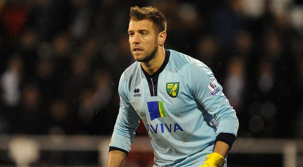 Aston Villa have signed goalkeeper Mark Bunn on a two-year deal