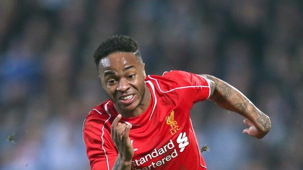 Liverpool's Raheem Sterling wa named in the squad for their pre-season tour