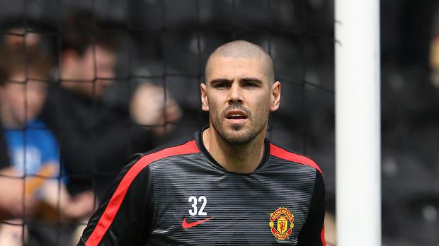 Victor Valdes joined Manchester United last year