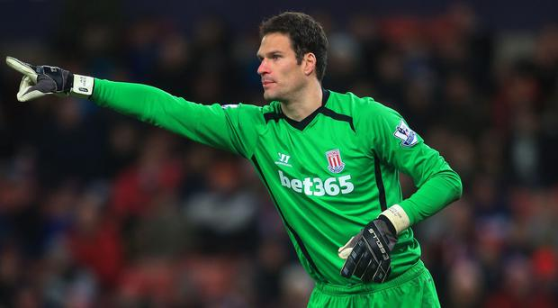 Asmir Begovic has joined Chelsea from Stoke.