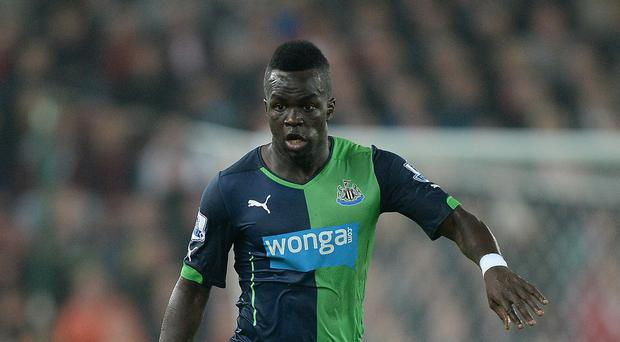 Cheick Tiote has not travelled to the United States because of a visa issue