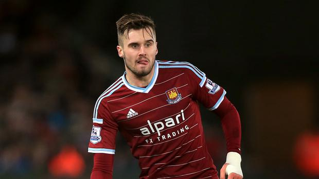 Arsenal defender Carl Jenkinson spent last season on loan at West Ham.