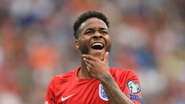 England forward Raheem Sterling has swapped Liverpool for Manchester City