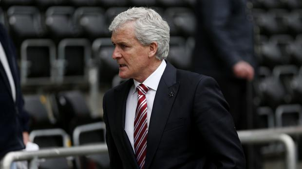 Stoke manager Mark Hughes, pictured, has added Moha El Ouriachi to his squad