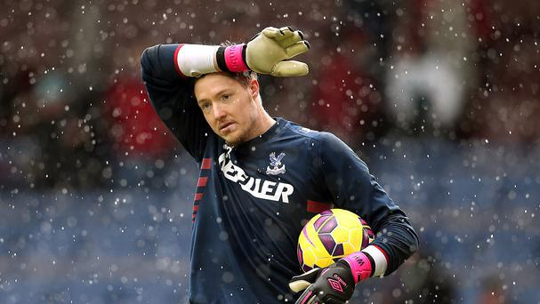 Crystal Palace goalkeeper Wayne Hennessey has struggled for games at Selhurst Park