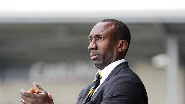 Burton boss Jimmy Floyd Hasselbaink played under new Leicester manager Claudio Ranieri at Chelsea
