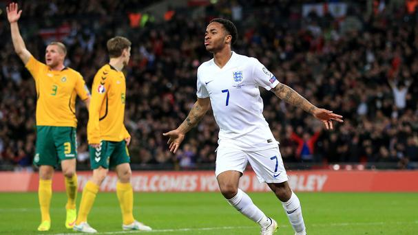 Manuel Pellegrini has backed Raheem Sterling, pictured, to make an impact with Manchester City