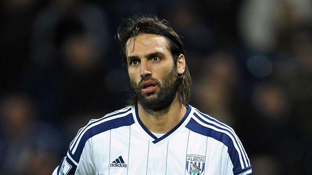 Georgios Samaras is a free agent again after leaving West Brom