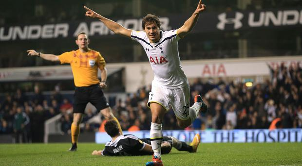 Benjamin Stambouli has signed for Paris St Germain from Tottenham in a five-year deal
