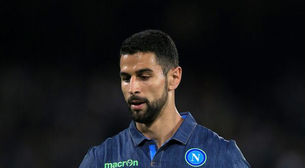 Defender Miguel Britos has joined Watford from Napoli.