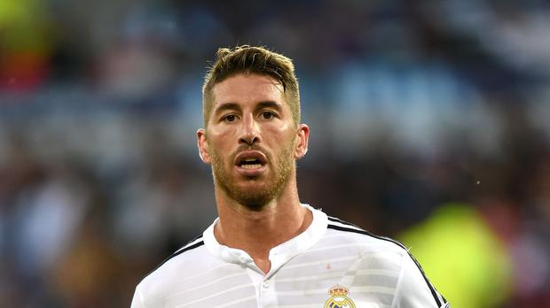 Sergio Ramos is a transfer target for Manchester United