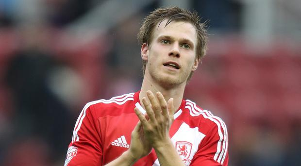 Chelsea defender Tomas Kalas re-joined Middlesbrough on loan
