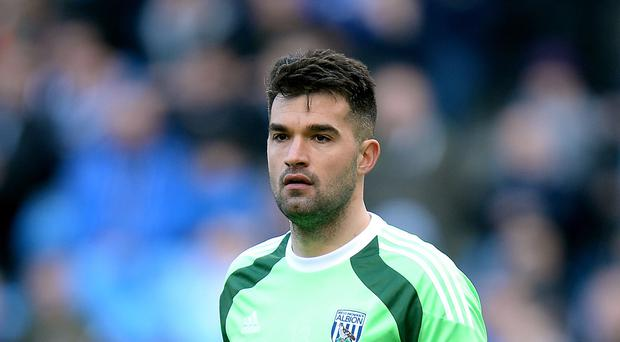 West Brom goalkeeper Boaz Myhill has committed his future to the club