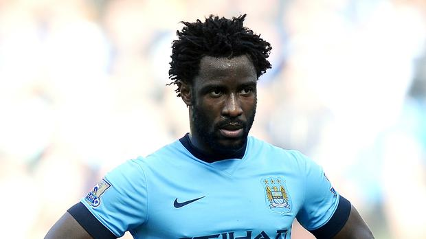 Wilfried Bony was unable to join Manchester City on their pre-season tour due to illness