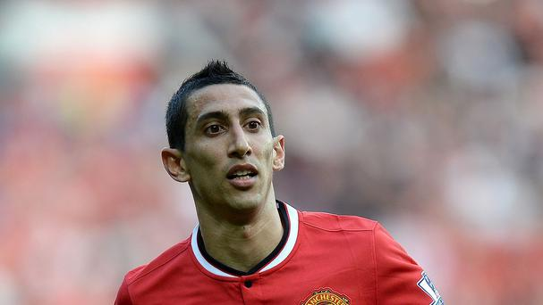 Angel di Maria has struggled since joining United for a British record fee last summer
