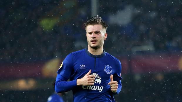 Everton's Luke Garbutt has joined Fulham on loan