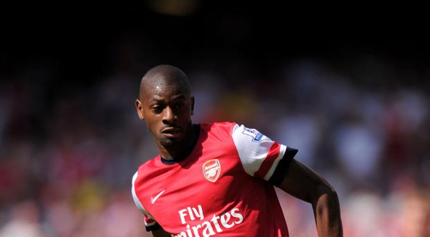 Abou Diaby played just twice in his final two seasons at Arsenal before being released