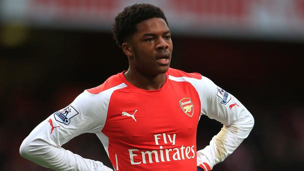 Chuba Akpom hopes to stay at Arsenal this season