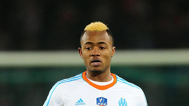 Jordan Ayew has swapped Lorient for Aston Villa